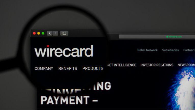 Website von Wirecard