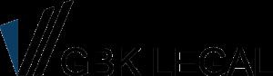 GBK LEGAL - Text Logo